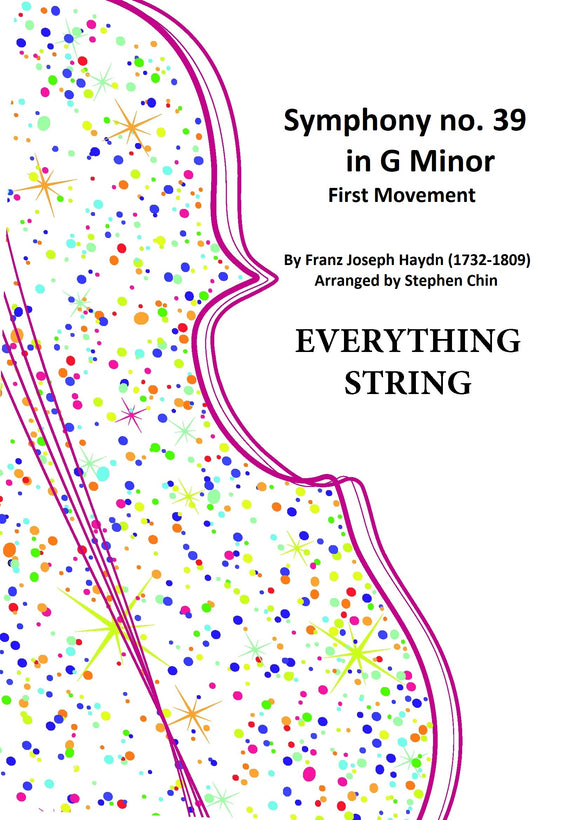 Symphony No. 39 in G Minor - F. J. Haydn arr. Stephen Chin (Grade 4)