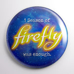 One Season of Firefly Was Enough