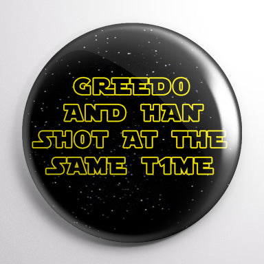 Greedo and Han Shot at the Same Time