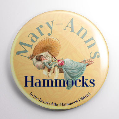 Mary Ann's Hammocks - The Simpsons Button