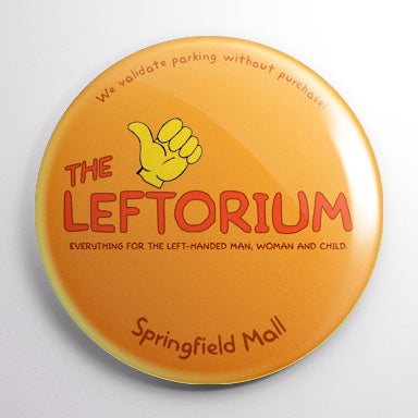 Leftorium - The Simpsons Button