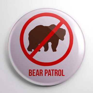 Bear Patrol - The Simpsons Button