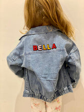 Load image into Gallery viewer, Oversized Denim Jacket (Back Only Personalisation)