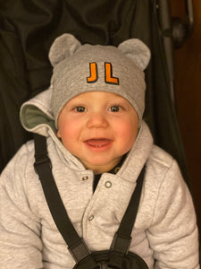 Beanie Bear Hat - Grey