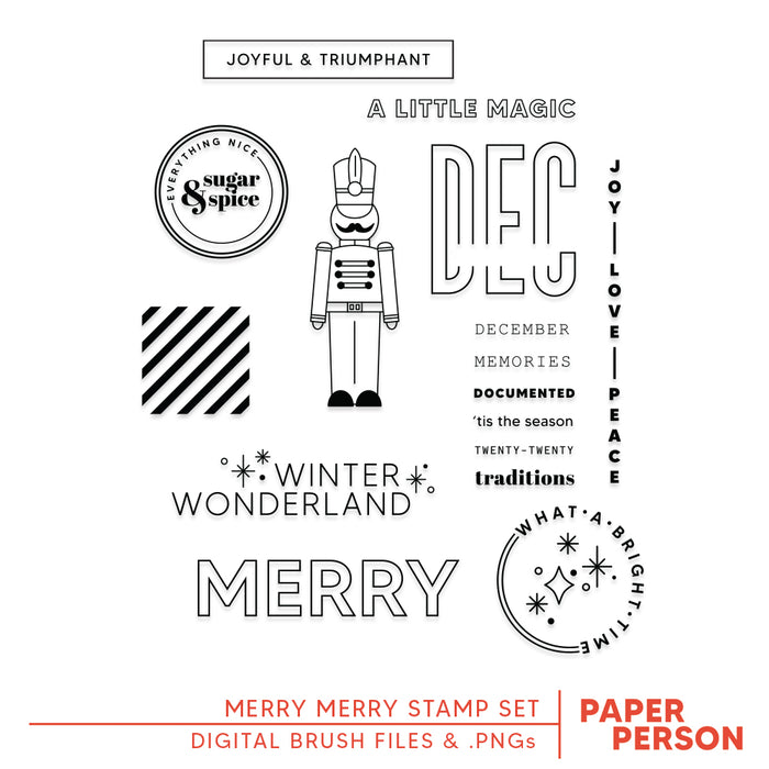Holiday: Merry Merry Digital Files