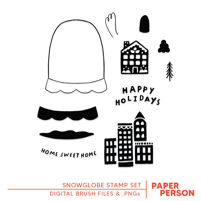 Holiday: Snowglobe Digital Files