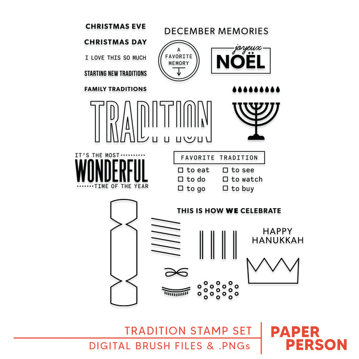 Holiday: Tradition Digital Files