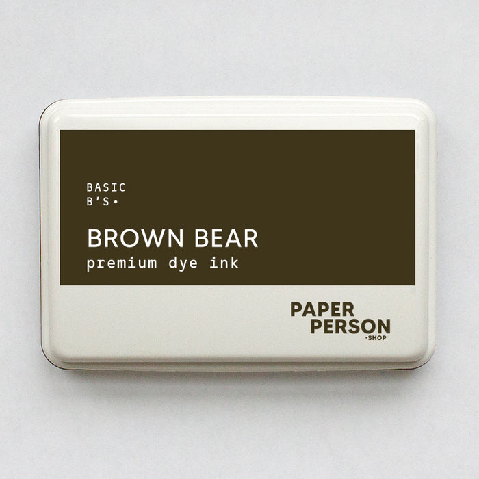 Ink Pad: Brown Bear