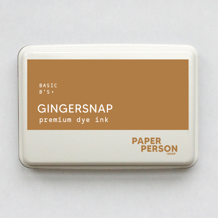 Ink Pad: Gingersnap
