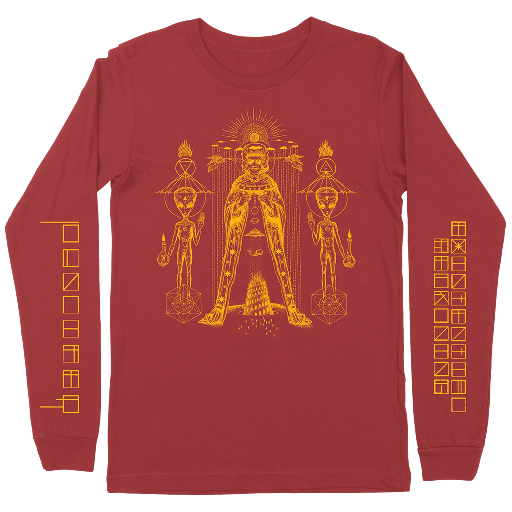 Existential Reckoning Red Longsleeve