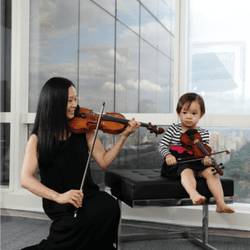 Eugenia Choi, a Concert Violinist and a Mom, on Instilling Culture Into Children And Fighting Expectations