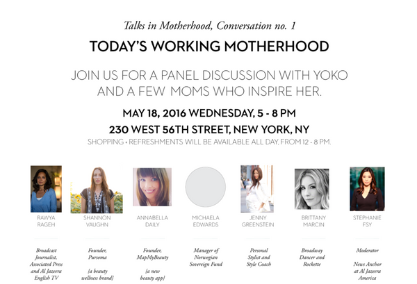 You're Invited! Talks in the Motherhood, Conversation no 1