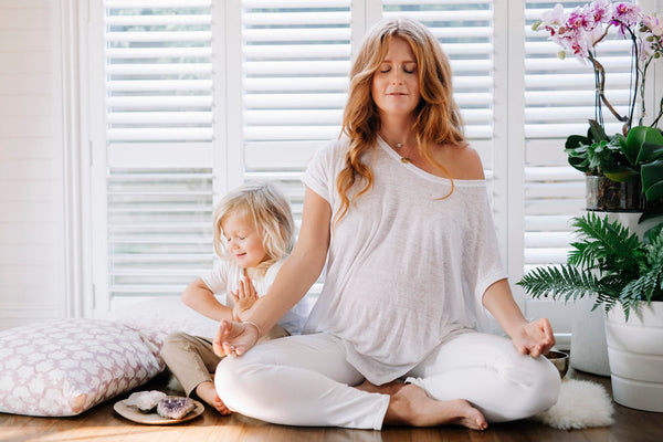 Raising My Vibrations…And My Kids: 3 Essential Tips On Meditation For Mamas