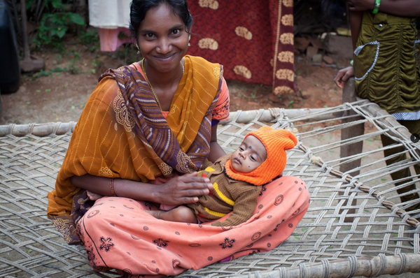 A Story From Our Giving Partner: Devi and Baby