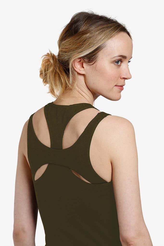 The Jennifer Nursing Tank <i> (Olive) </i>