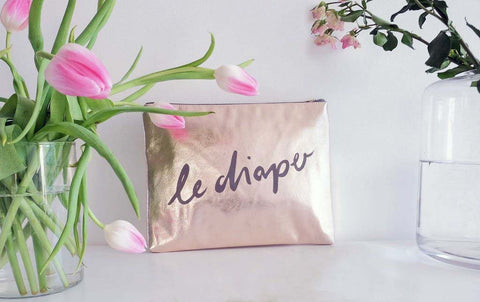 The LeDiaper Bag (limited edition rose gold)