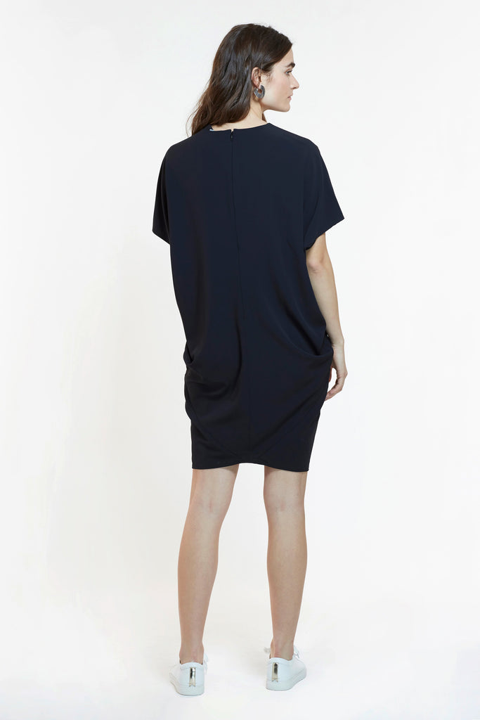 Mitera Elif Dress Black Back View