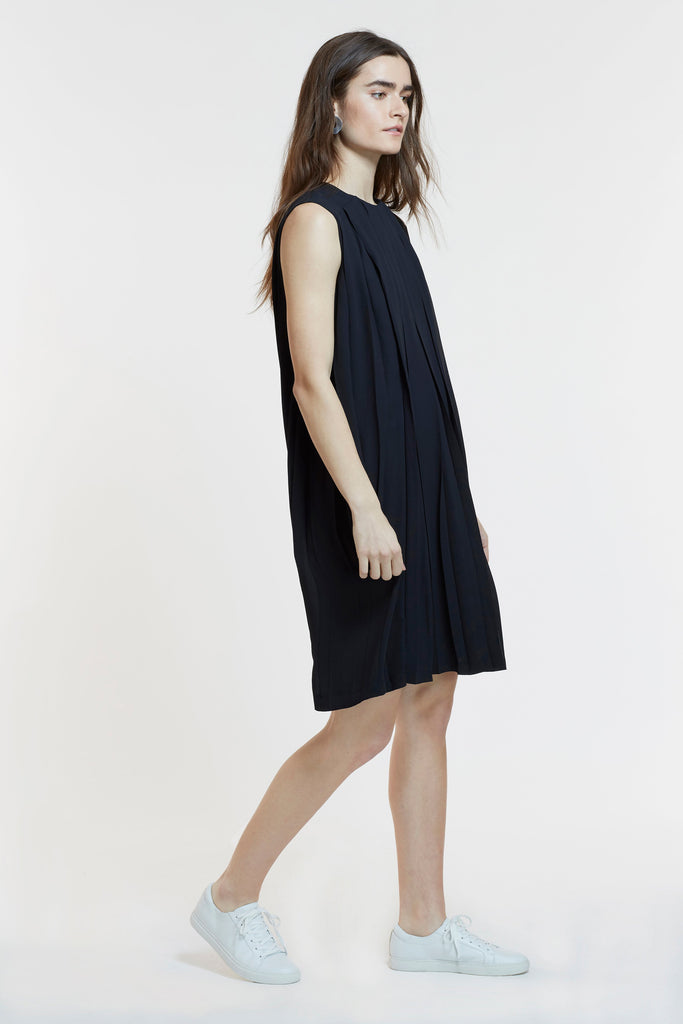 Mitera Ellen Maternity and Nursing Dress Black