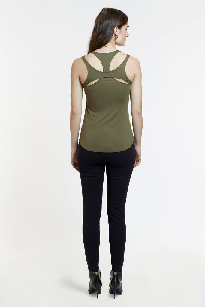 Mitera Jennifer Nursing Tank Back View