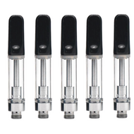Cartridges Ceramic Black Tips 1 ml