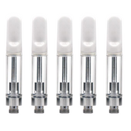 Cartridges Ceramic White Tips 1 ml