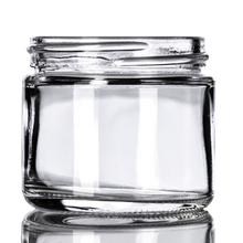 Load image into Gallery viewer, 2 oz Clear Glass Jars (168/cs)