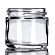 2 oz Clear Glass Jars (168/cs)
