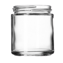 Load image into Gallery viewer, 4 oz Clear Glass Jars (90/cs)