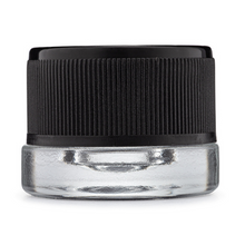 Load image into Gallery viewer, 5 mL Clear CR Glass Jars (480/cs)