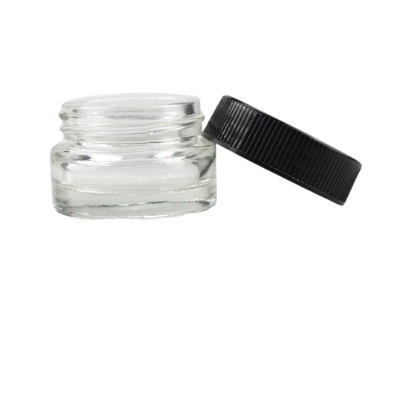 5 mL Clear Glass Jars (350/cs)
