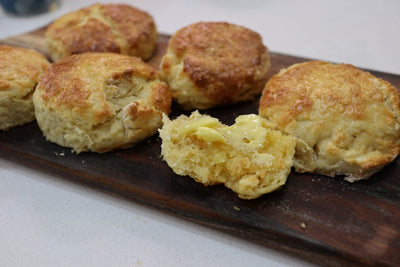 Flaky American Biscuits