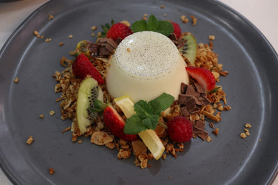 Breakfast Panna Cotta
