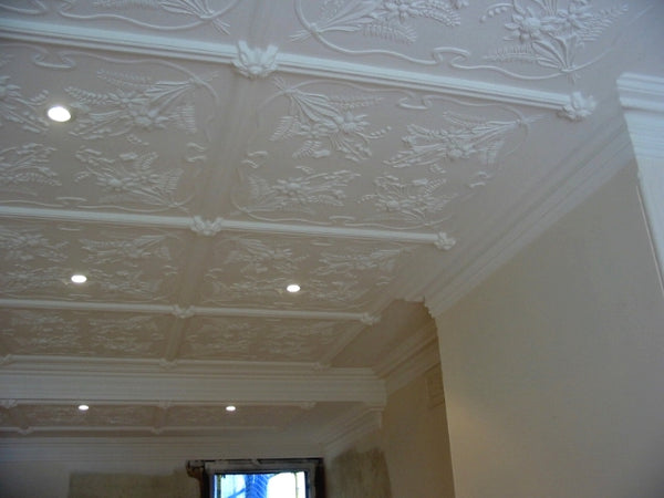 Australian Native ceiling panel. SC43A Cornice. SCS82 Strip. SCB250 Boss
