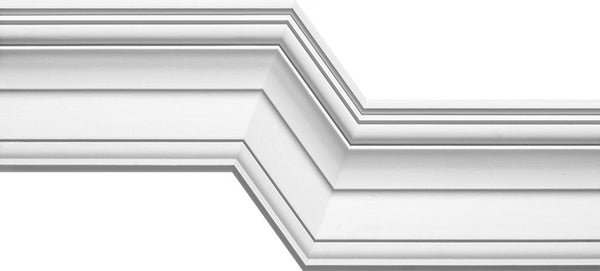Plaster cornice iS2   ceiling 85 x wall 120mm *can be inverted*