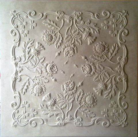 Reproduction ceiling panel after reproduction.