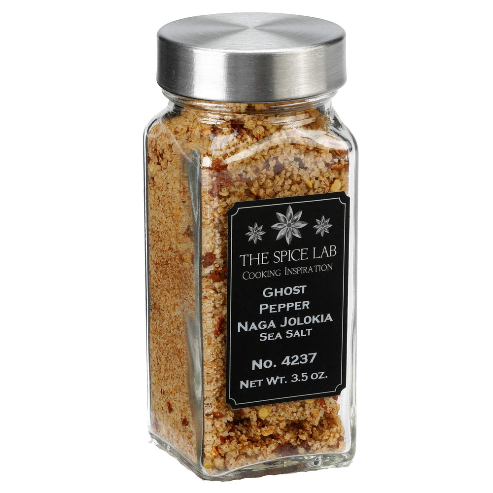Load image into Gallery viewer, Gourmet Ghost Pepper Sea Salt (Hot!!) - available in 2, 4, 8 and 16 Ounce Bags