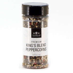 Load image into Gallery viewer, The Spice Lab Rainbow Peppercorn - Mixed Peppercorns with Pimenta (All Spice) - Kings Peppercorn Medley - All Natural OU Kosher Gluten Free - Peppercorns for Grinder Refill