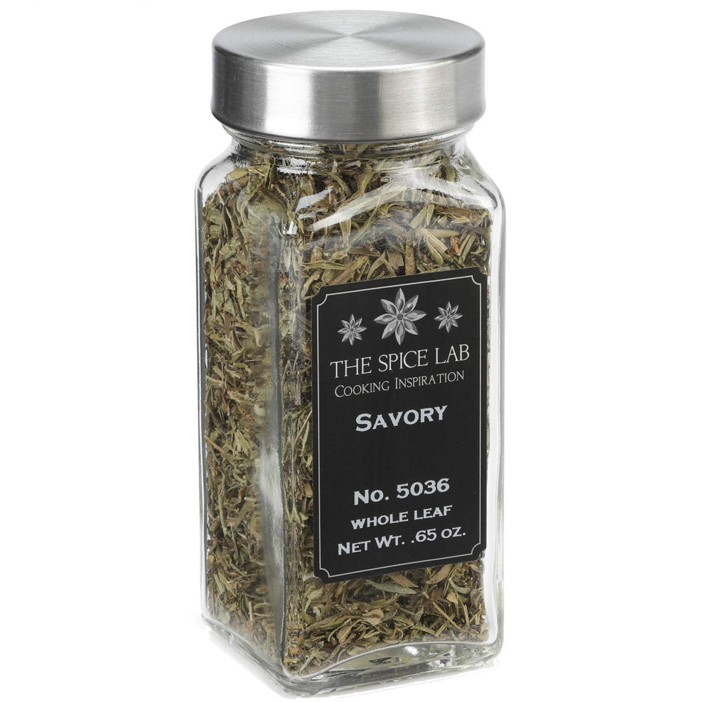 Load image into Gallery viewer, The Spice Lab No. 36 - Whole Leaf Savory - Kosher Gluten-Free Non-GMO All Natural Spice