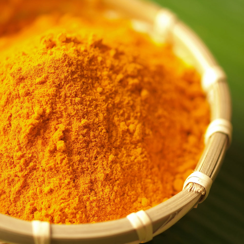Load image into Gallery viewer, The Spice Lab Ground Turmeric Powder - Double Strength (% Curcumin) - All Natural Kosher Non GMO Gluten Free - Full Of Health Benefits - 5267