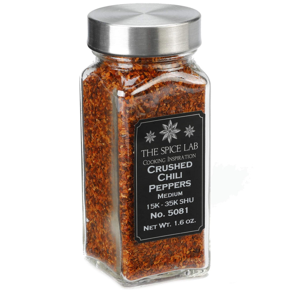 Load image into Gallery viewer, The Spice Lab Italian Crushed Red Pepper Flakes - Medium - All Natural Kosher Non GMO Gluten Free - 5081