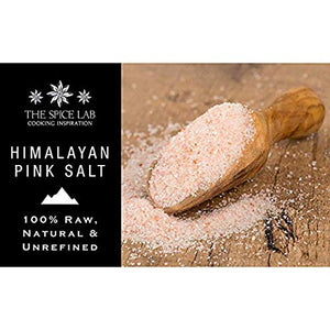 Load image into Gallery viewer, The Spice Lab Himalayan Salt - Pink Himalayan Salt is Nutrient and Mineral Dense for Health - Fine Gourmet Pure Crystal - Kosher & Natural Certified - 4040