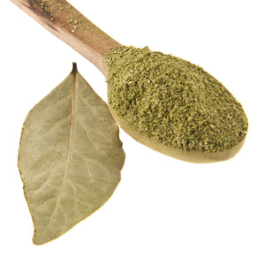 Load image into Gallery viewer, The Spice Lab Ground Bay Leaves - Ground laurel Leaf - Kosher Gluten-Free Non-GMO All Natural Spice - 5118