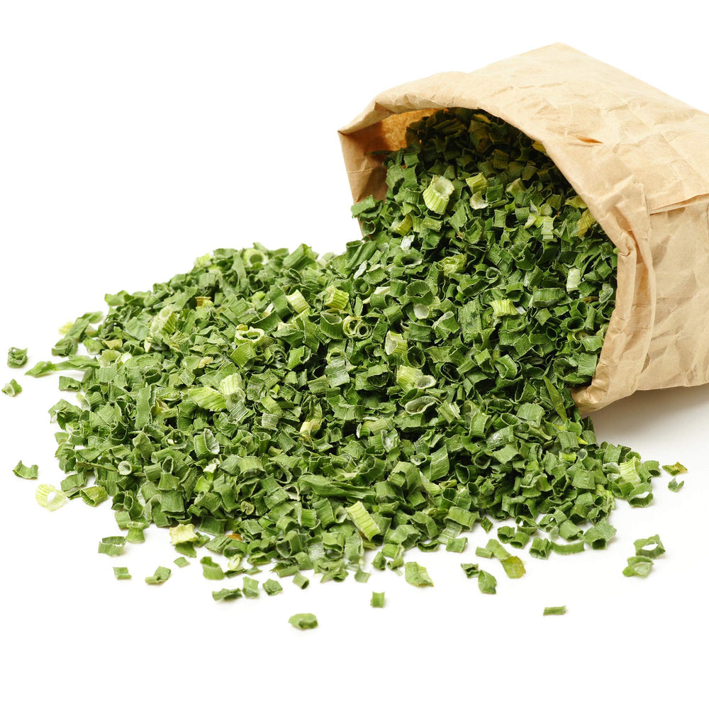 The Spice Lab - Coppped Dried Green Chives / Dehydrated - All Natural Kosher Non GMO Gluten Free Spice - Green Onion