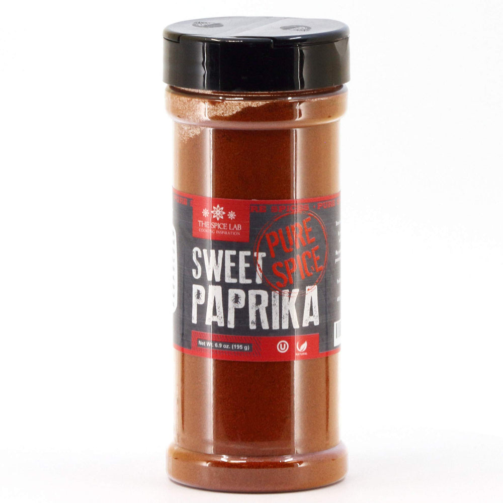 Load image into Gallery viewer, The Spice Lab Sweet Paprika Powder - High Color ASTA 120+ - Spanish Paprika Powder - Vegan Non GMO Spice - Rich in Antioxidants - 5009