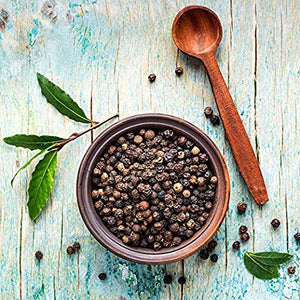 Load image into Gallery viewer, THE ORGANIC PANTRY Organic Peppercorns - USDA Organic Whole Black Tellicherry Peppercorns - Steam Sterilized All Natural Organic Black Pepper - Perfect Whole Peppercorns for Grinder Refill