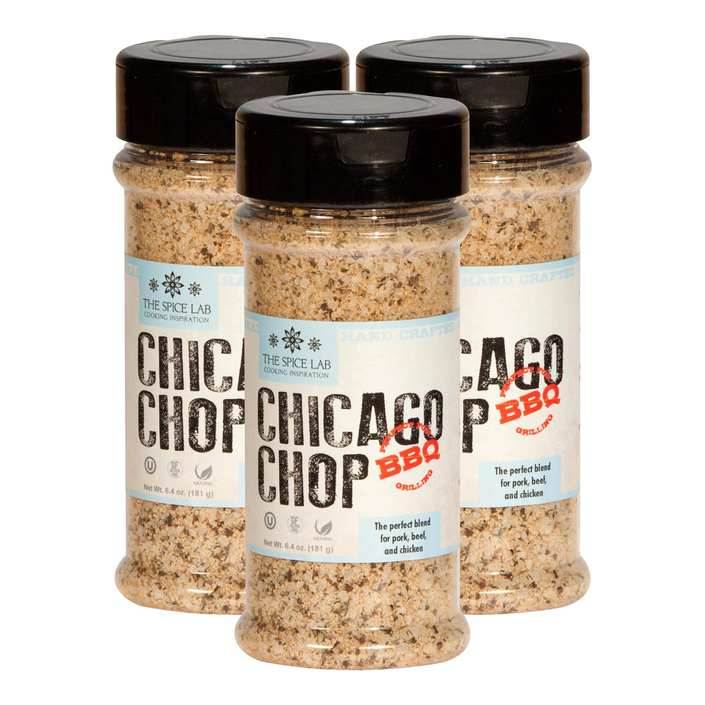 Load image into Gallery viewer, The Spice Lab Chicago Pork Chop Seasoning Spice Rub Blend (No Fillers, Clean Label, All Natural) Kosher - 7080