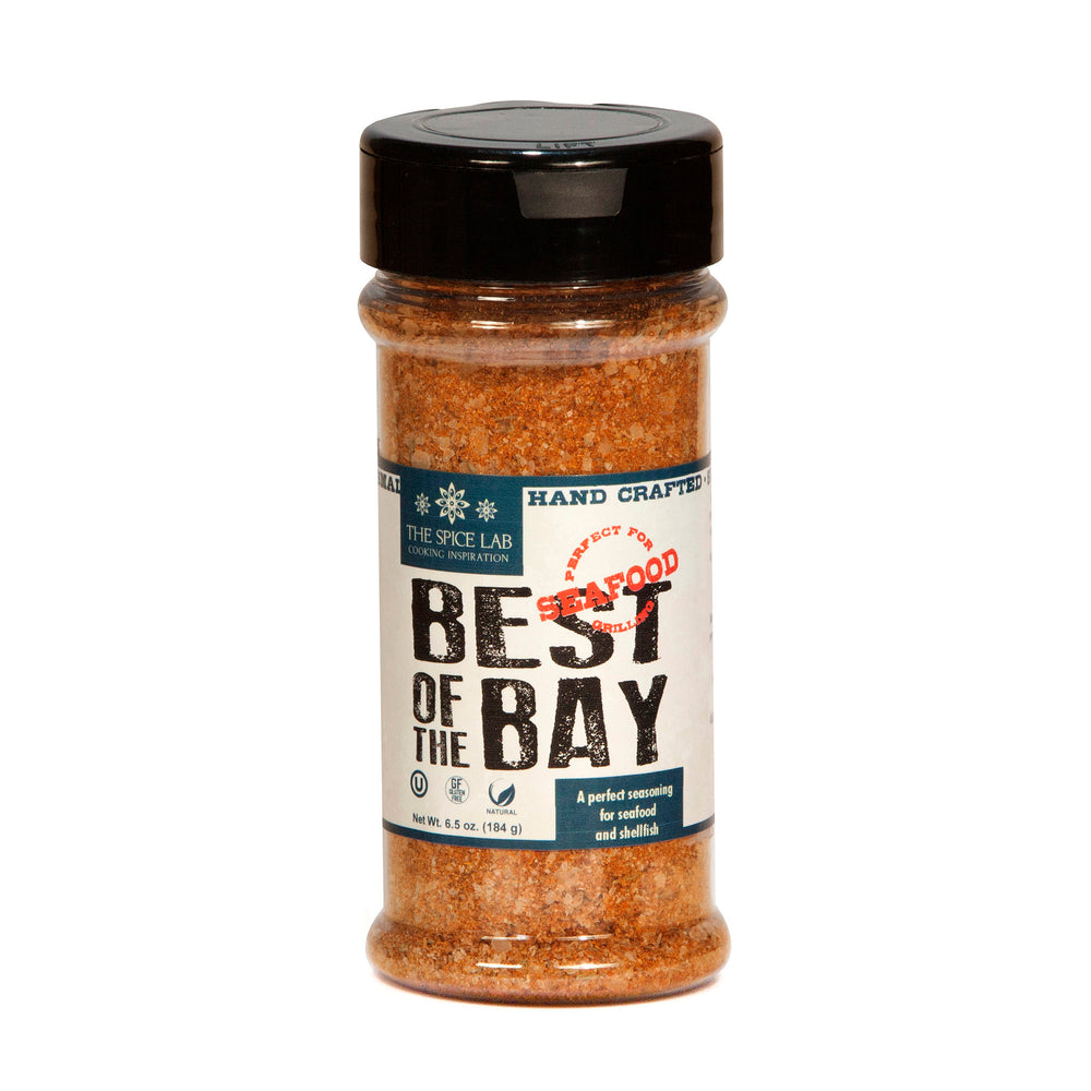 Load image into Gallery viewer, The Spice Lab Best of the Bay Seafood Seasoning – Shaker Jar – Excellent Crab & Crawfish Boil Blend - No Fillers, Clean Label, All Natural Spice – Low Country-Maryland Seafood Rub - 7024