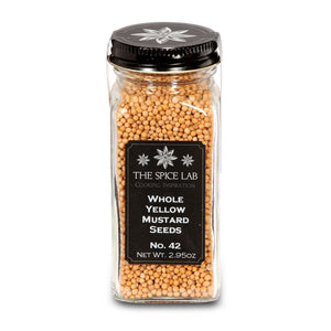 Load image into Gallery viewer, The Spice Lab Whole Yellow Mustard Seeds - Kosher Gluten-Free All Natural - 5042
