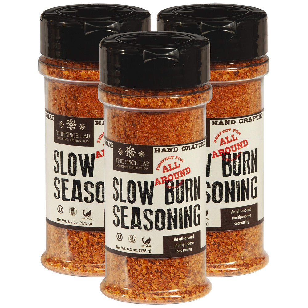 Load image into Gallery viewer, The Spice Lab Slow Burn Seasoning - Multi-Purpose Blend Great southern style Seasoning for Meats, Potatoes, All Around kitchen staple - 7102