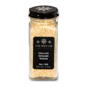 Load image into Gallery viewer, The Spice Lab No. 189 - Hulled Sesame Seeds - Kosher Gluten-Free Non-GMO All Natural Seeds